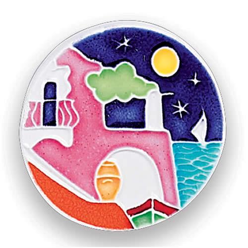 Round Magnet Arte D Italia Imports Inc